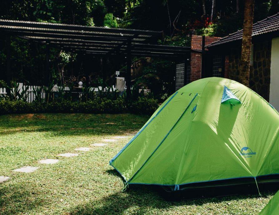 Camping at Hillside Retreat Penang