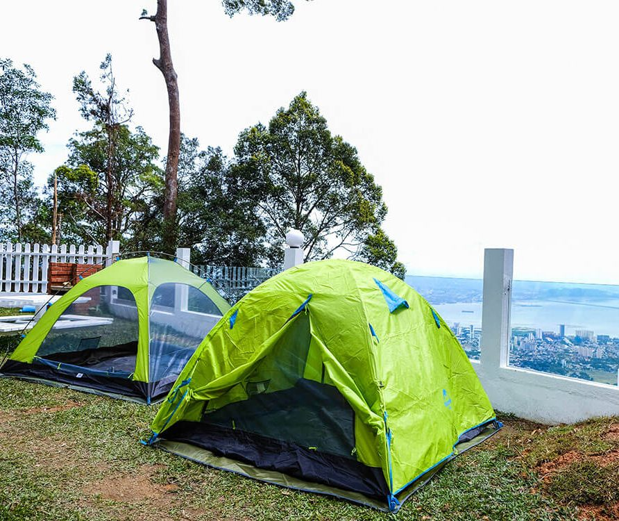 Camping at Hillside Retreat Penang